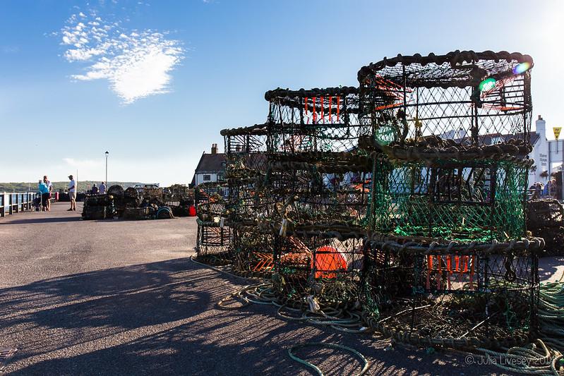 Lobster Pots on Mudeford Quay