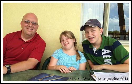 Keith, Ellie, Jacob A1A Ale Works