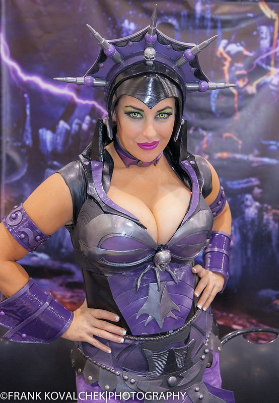 "Great costume! Evilynne from the ""Master of the Universe"" series"