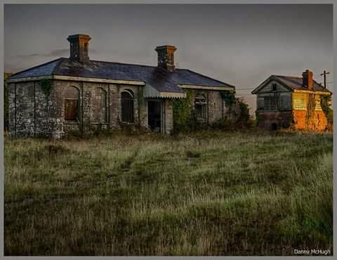 Ballinlough Railway Station,Co. Roscommon. Ireland.