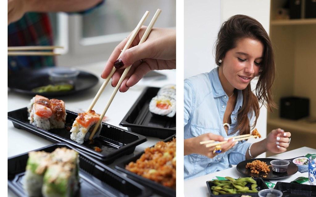 Instamaki comer sushi en barcelona theguestgirl