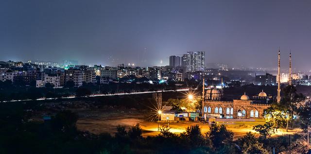 Diwali night ...
