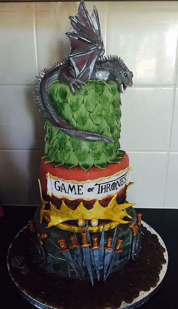 Game of Thrones Cake by Sarah Mitas of Leaves Cuisine