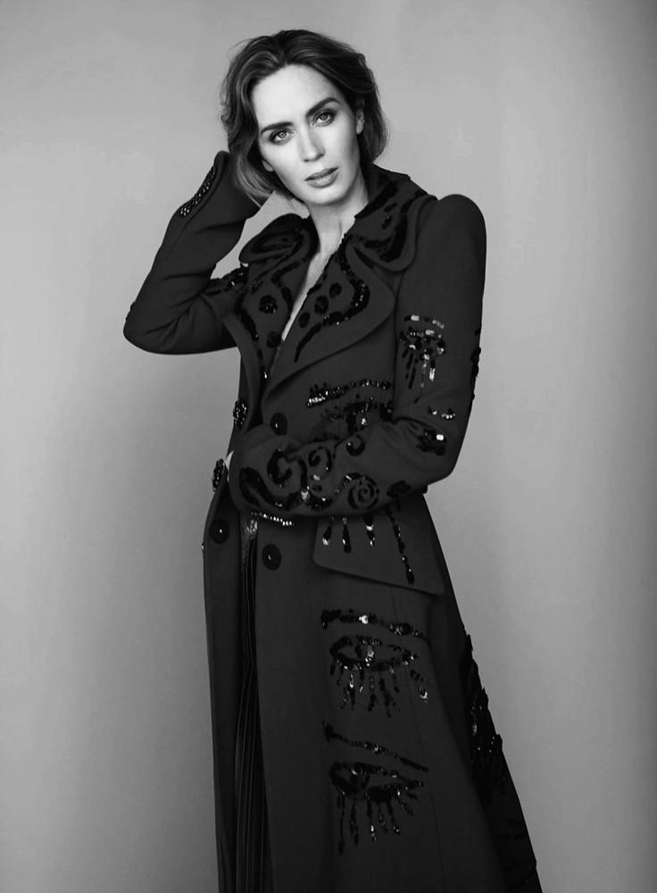 Эмили Блант — Фотосессия для «InStyle» 2016 – 2
