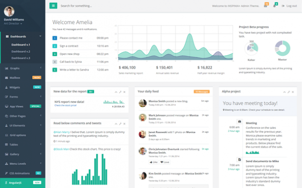 INSPINIA v2.5 – Responsive Admin Theme – WrapBootstrap