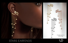 LaGyo_Stars Earrings for Fameshed