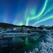 Aurora in Straumsbotn, by Reidar Trekkvold