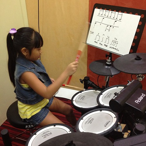 My drummer girl