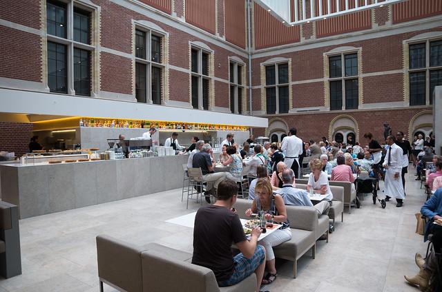 アムステルダム国立博物館 カフェ