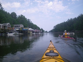 Arrival at Chauncey Creek