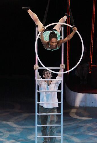 FLIC Cirkusziskola növendékei
