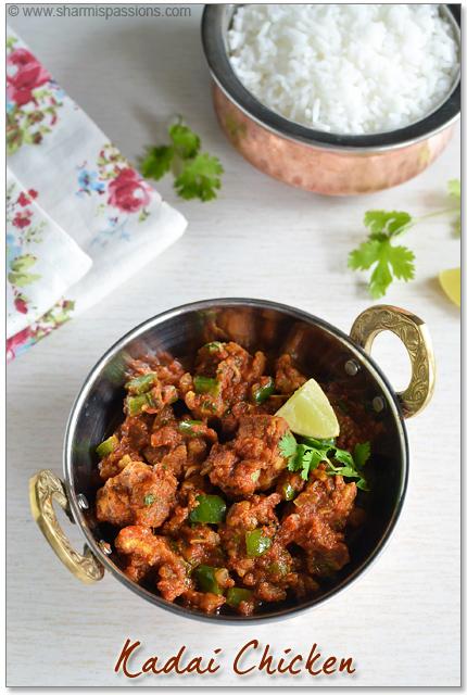 Kadai Chicken Recipe