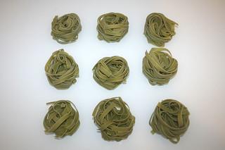 11 - Zutat Bandnudeln / Ingredient noodles (Tagliatelle)