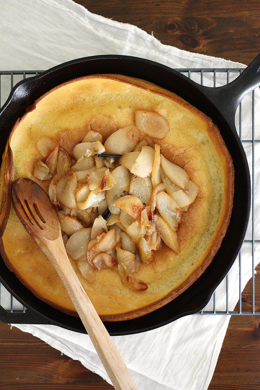 browned butter dutch baby