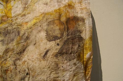 Silk scarf hand dyed by JaneBoFELT