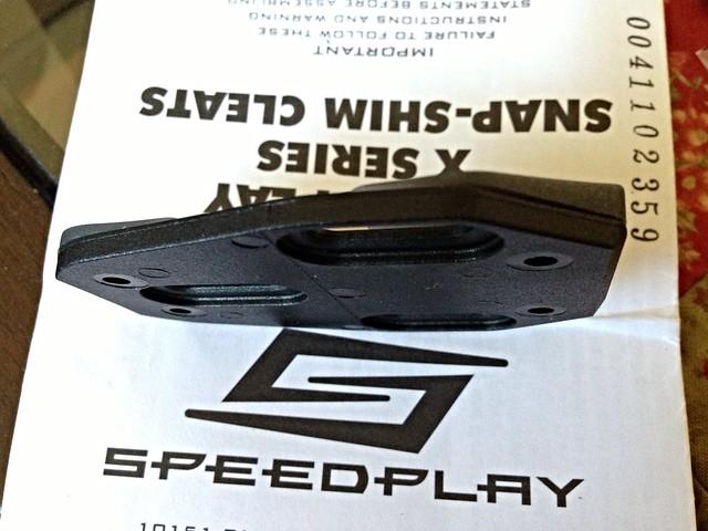 Speedplay converter shim