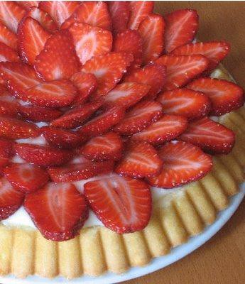Lemon-Kissed Strawberry Tart