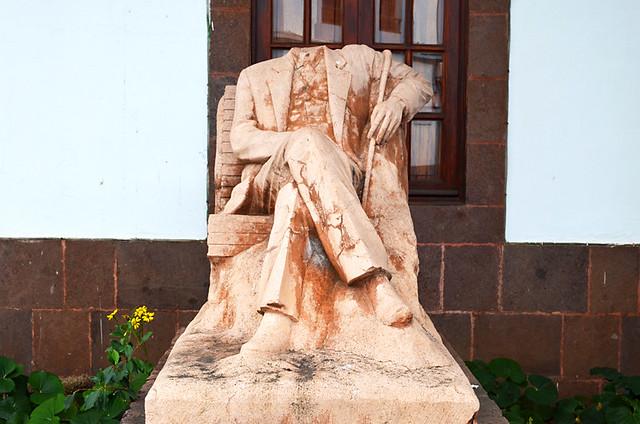 Monument to Francusco Armas Merino, Agaete, Gran Canaria