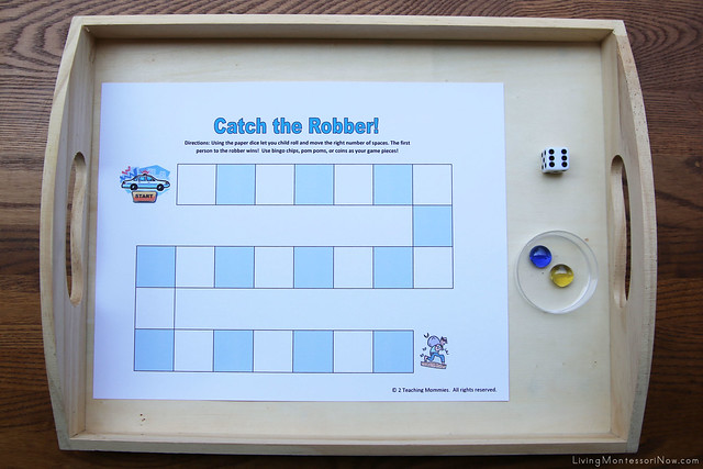 Catch the Robber Math Game