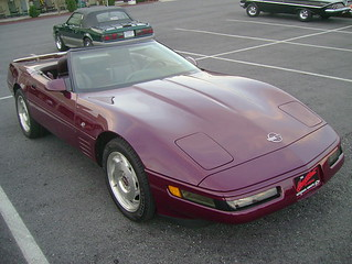1993 Chevy Corvette Convertible