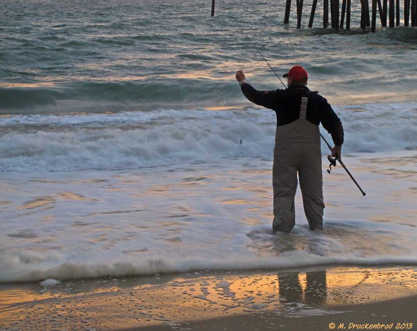 Morning reflections kitty hawk north carolina flickr for Outer banks surf fishing