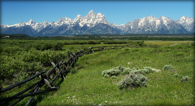 Tetons off of highway 89