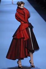 Couture inspiration, red, Dior, Giambattista Vali, Valentino