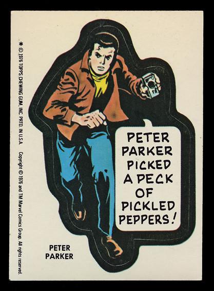 msh_bubblegum_28 Peter Parker