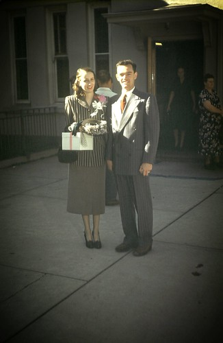 My Parents at the Salt Lake Temple, September 1, 1948