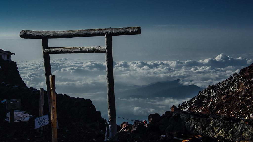 富士山 Mt Fuji 3776m