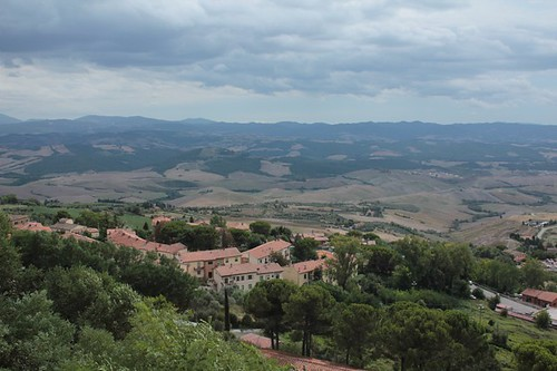 Volterra: panorama dal belvedere