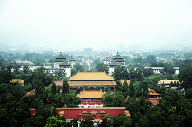 Vistas desde el Parque Jingshan