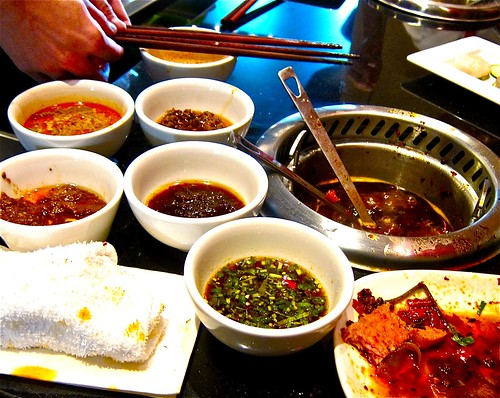 sauces from bar