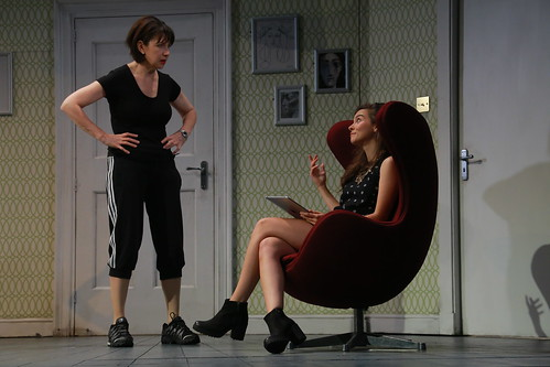 Maureen Beattie as Isobel McArthur and Sara Vickers as Alexandra McArthur. Photo © Douglas McBride