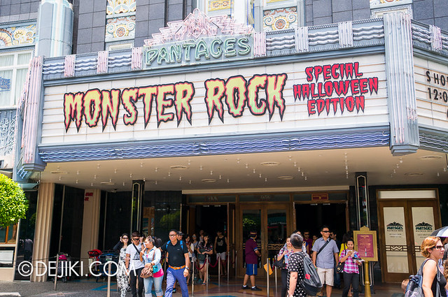 HHN3 Before Dark 2 - Monster Rock Halloween Edition