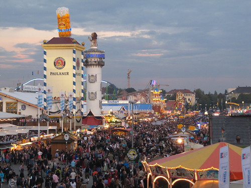 A little world called 'Oktoberfest' - Munich, Germany