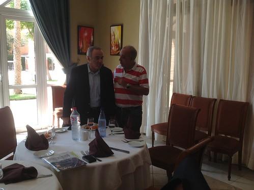 Garry Kasparov i Francesc Rechi