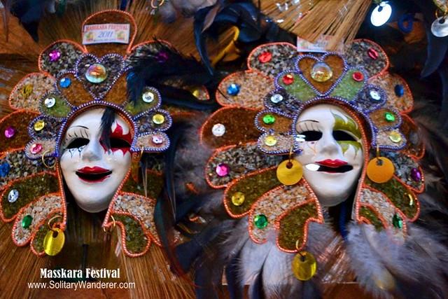 how to make masskara festival headdress