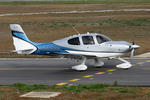 N3600X Cirrus SR22T by Guernsey Airport Photography