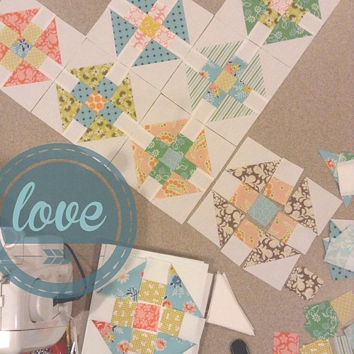 Double Wrench quilt blocks