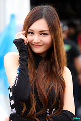 Sepang Circuit Girl
