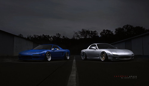 shaida's nsx and his buddy's rx7 by zandbox photo