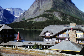 Many Glacier Lodge, 1991