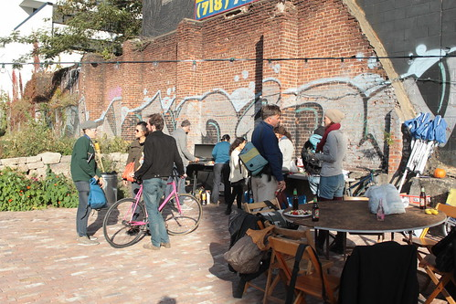 Bike Yard Launch