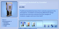 BiblioVault Bookshelf by Corebital Designs