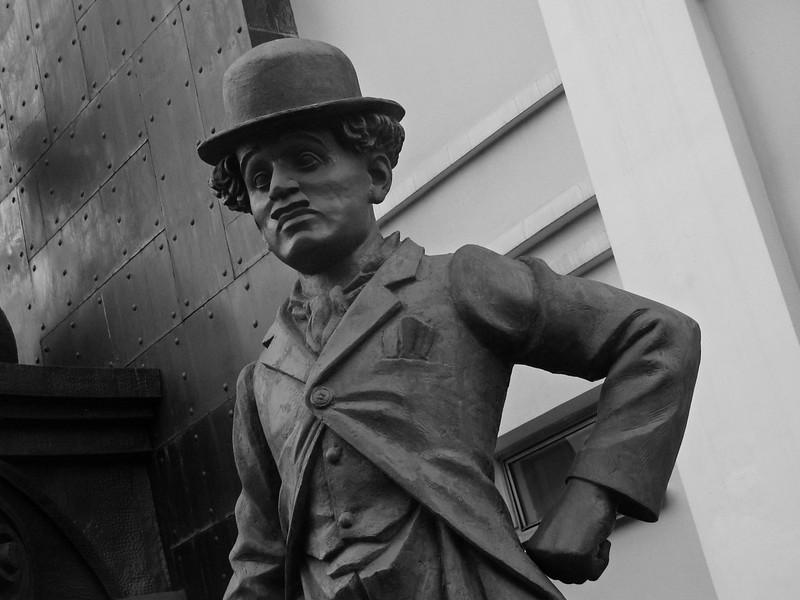 Zurab Tsereteli, «Charlie Chaplin»