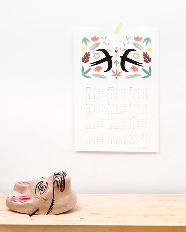Calendar 2014 by Depeapa_07