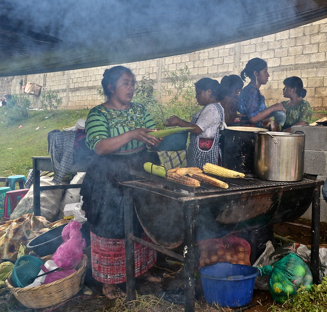Traditional Guatemala Food and Street Vendors