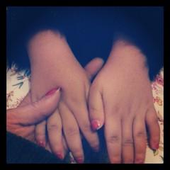 ♡ calins avant d'aller à l'école ♡ #hand #ourlittlefamily #france