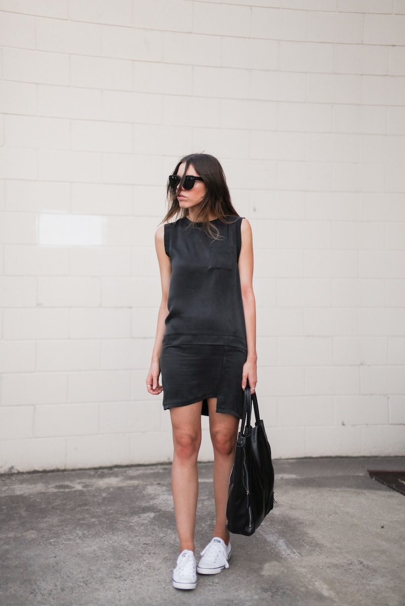 modern legacy fashion blog style blogger australia toi et moi dress converse dainty all star street style lbd trainers sneakers (7 of 8)